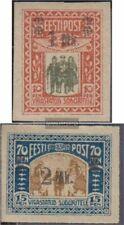 Estland 25-26 (kompl.Ausg.) mit Falz 1920 Kriegsbeschädigte