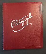 Vintage 50's High School Or College Varsity Photo Album Good Collectable