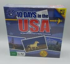 10 Days In The USA The Unpredictable Game Of Making Connections Travel Game New