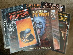 Clive Barker's Hellraiser Comic Book Lot #1 (1st Pinhead) 7 Total Horror Comics