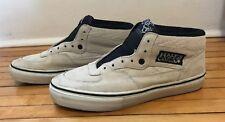 Vans Syndicate Half Cab Skate Shoe Mens US 7 Off-White Suede SAMPLE  - Used