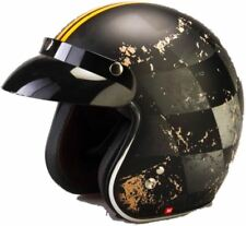 Viper Rs-05 Slim Open Face Scooter Touring Motorcycle Motorbike Helmet Classic Chequer M