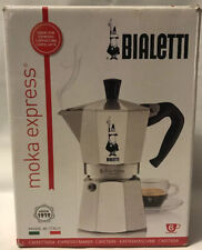 BIALETTI Moka Express 6 Cup Espresso Maker - Silver [NEW]