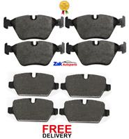 FOR BMW 3 SERIES E90 (2004-2011) FRONT & REAR BRAKE PADS SET NEW