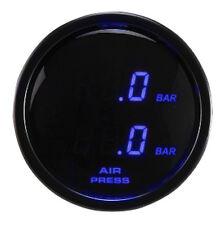 Fahrwairk Digitalanzeige für Airride rot Luftfahrwerke Druckanzeige 2 Achsen