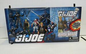 G.I. Joe Greatest Battles Action Figure Set (2008) Hasbro New DVD