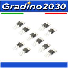 10 Pezzi - Regolatori di Tensione  5 Pezzi LM7805 5v 5 Pezzi LM317T 3.3v