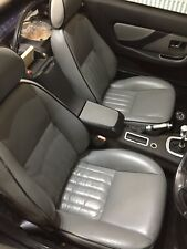 MGF / MG TF - Custom Grey Leather Seats Interior & Door Cards Arm Rest