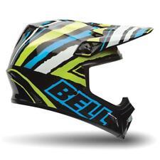 Bell MX-9 MX9 Motocross MX Off Road Motorcycle Helmet - Tagger Scrub Psycho