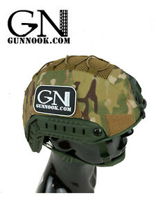 GN-ATHC - GunNook Advanced Tactical Helmet Cover. For Ops-Core Fast, MICH 2001