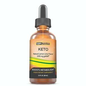 MAX ABSORPTION goBHB Keto Liquid Drops   Weight Loss Suppress Appetite Women Men