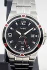 Casio MTP-1330D-1A Men's Watch Silver Stainless Steel Quartz Black Dial New