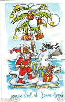 Fantasía - TARJETA POSTAL- - Joyeux Navidad y Bonne Année