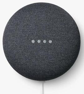 Google H2C Charcoal Nest Mini Home Smart Bluetooth Chromecast Speaker