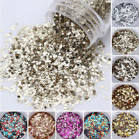 9 Pcs 10ml Nail Glitter Powder Sequins Gradient Paillette 3D Nail Art Decoration