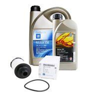 ORIGINAL GM OPEL Motoröl 5W30 dexos2 6 Liter + Ölfilter 55595505 | 2.0 CDTi