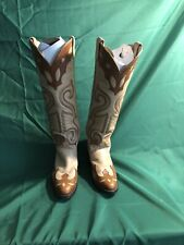New listing Vintage Larry Mahan women's, Knee High Western Riding Boots