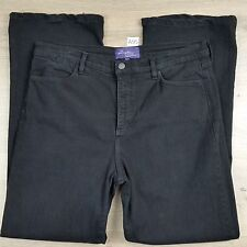 NYDJ Not Your Daughters Jeans Black Womens Jeans EUC Size 22 Jewelled W36 (A95)