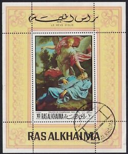 1968 - Ras Al Khaima - Airmail - Paintings - MNH ** SW #401