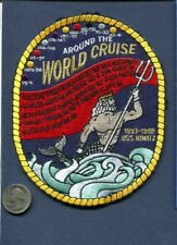 CVN-68 NIMITZ HS-8 Around The World 1997 98 US NAVY Ship Squadron Cruise Patch