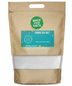 Coarse Sea Salt   GMO Free   Vegan   Dairy Free   Unrefined