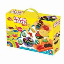 Kinder Soft Knete Set viele Farben Zubehör Knetmasse Modelliermasse Bastel Set