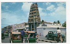 HINDU TEMPLE: Singapore postcard (C5169).