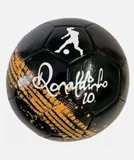 Fußball Gr. 5 Ronaldinho Schwarz/Gelb