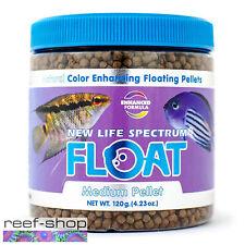 New Life Spectrum FLOAT Medium Pellets 120g Color Enhancing Floating Fish Food