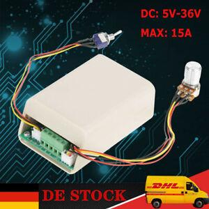 3-Phasen Motor Drehzahlregler Brushless Motor Speed Controller DC 5-36V 15A  DE