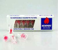 20 x Newport Mini Pipe Filters Disposable Tar Nicotine Reducing Cigarette Filter