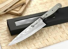 Japanese Damascus Chef's Knife Woodworker kit blank VG-10 Steel 67 Layers 8 inch