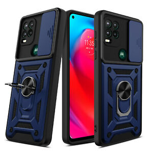 For Motorola Moto G Stylus 5G 2021 Phone Ring Holder Case Cover/Screen Protector