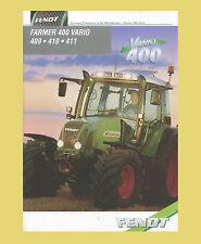 Fendt Farmer 409 410  411 Schlepper Traktor Original 1999