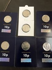 More details for 2019 a-z 10p coin collection x7 very rare
