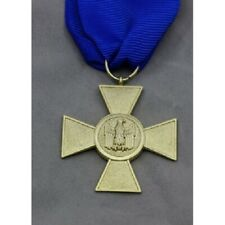 WWII WW1 German 1957 Heer 25 Years Service Medal with ribbon eagle