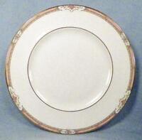 Royal Doulton Hardwick Dinner Plate H5146 Porcelain Peach Edge Orange Flowers