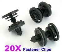 FOR VW T5 TRANSPORTER INTERIOR DOOR PANEL TRIM CLIPS - MOULDING CLIPS X20