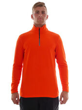 Brunotti Fleece Pullover Long Sleeve Top Orange Tenno Insulating