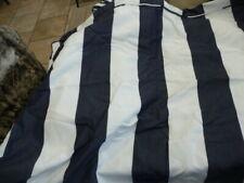 New listing Pottery Barn Dark Blue Stripe dog bed cover Large sunbrella