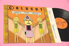 COLDCUT LP WHAT'S THAT NOISE ORIG UK 1989 EX