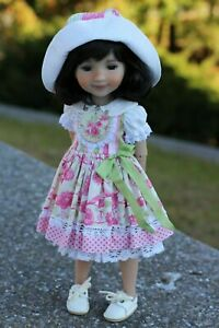"""Outfit for Doll Ruby Red 14.5"""" Fashion Friends,Sewn Clothes Dress Handmade"""