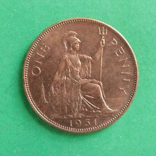 1951 George VI Penny Toned UNC Uncirculated SNo48028