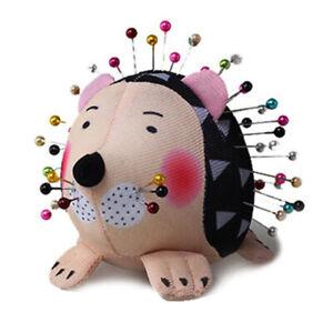 Hedgehog Shape Soft Fabric Pin Cushion Pin Quilting Holder DIY Sewing Craft T AP