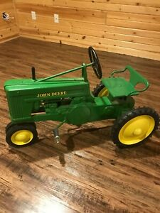 John Deere Small 60 Eska Pedal Tractor Amazing Condition