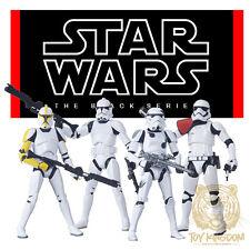 "Star Wars Black Series 6"" Force Awakens - AMAZON EXCLUSIVE STORMTROOPER 4-PACK"