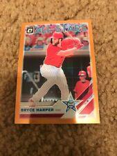 2019 Optic Bryce Harper All Stars Orange Prizm # 1/99