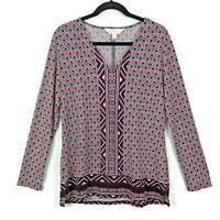 New Stitch Fix | Magnolia Grace Long Sleeve V-Neck Tunic Blouse - Size XL - NWT!