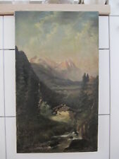 Werner Meier. Germany. 19 sent. Mountain scenery.