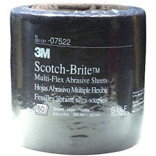 3M 7522 ScotchBrite MultiFlex Scuff Pad UltraFine Gray